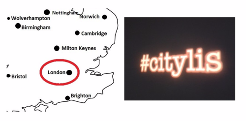 #citylis London BL Labs London Roadshow Event Mon 1 Feb (1730 - 1930)