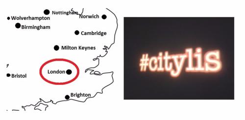 #citylis London BL Labs London Roadshow Event Mon 1 Feb (1730 - 1930)