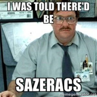 Milton from Office Space prefers a Sazerac to a red Swingline stapler