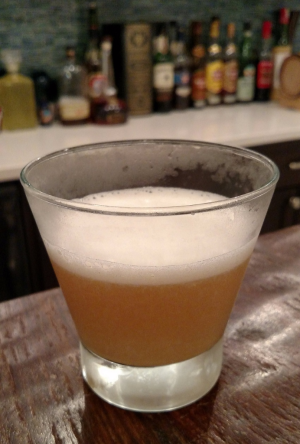 With vitamin C and protein, the Icelandic Sour is a relatively healthy cocktail.