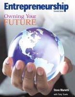 Entrepreneurship: Owning Your Future