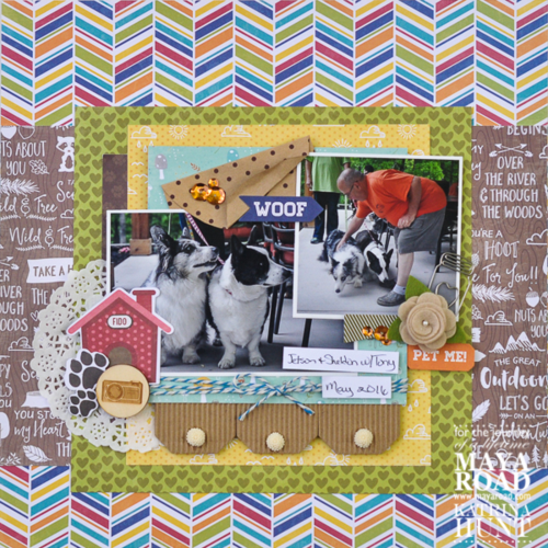 Scrapbook Layout by Katrina Hunt