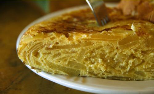 Una tortilla espanola