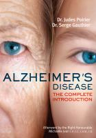 Alzheimer's disease: a complete introduction