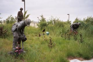 Wildland firefighter memorial