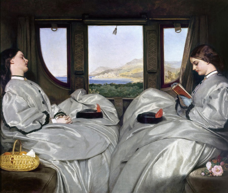 The Travelling Companions by Augustus Egg 1862