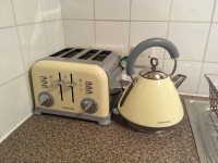 My toaster and kettle