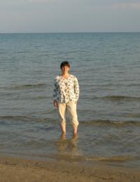 Susanna Kearsley in Lake Huron