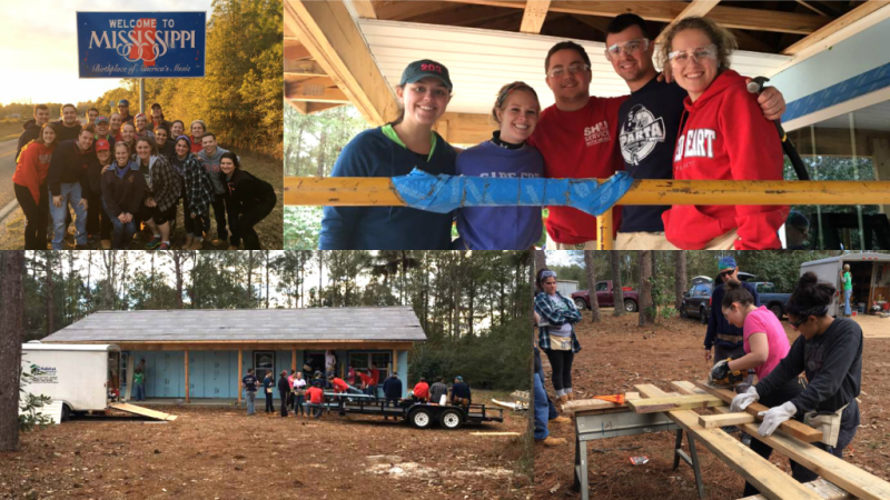 Habitat for Humanity Service Trips