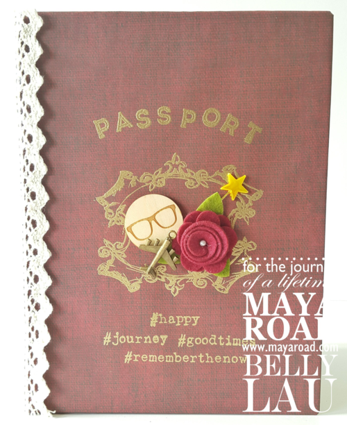 Passport Album - Maya Road - Belly Lau - 1 of 11