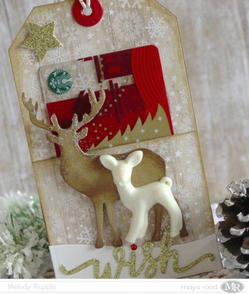 Gift Card Tag - Close Up
