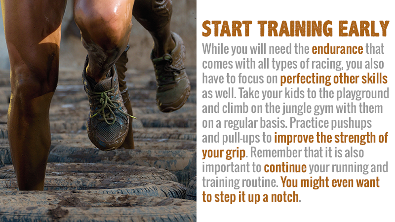 Start Training Early if Your're Going to Compete in an Obstacle Course Race