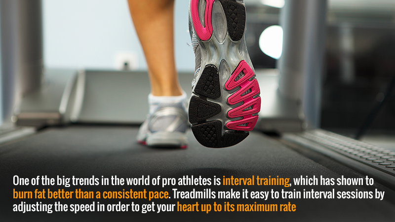 You'll Burn More Fat with an Interval Training Program Rather than Running at a Consistent Pace
