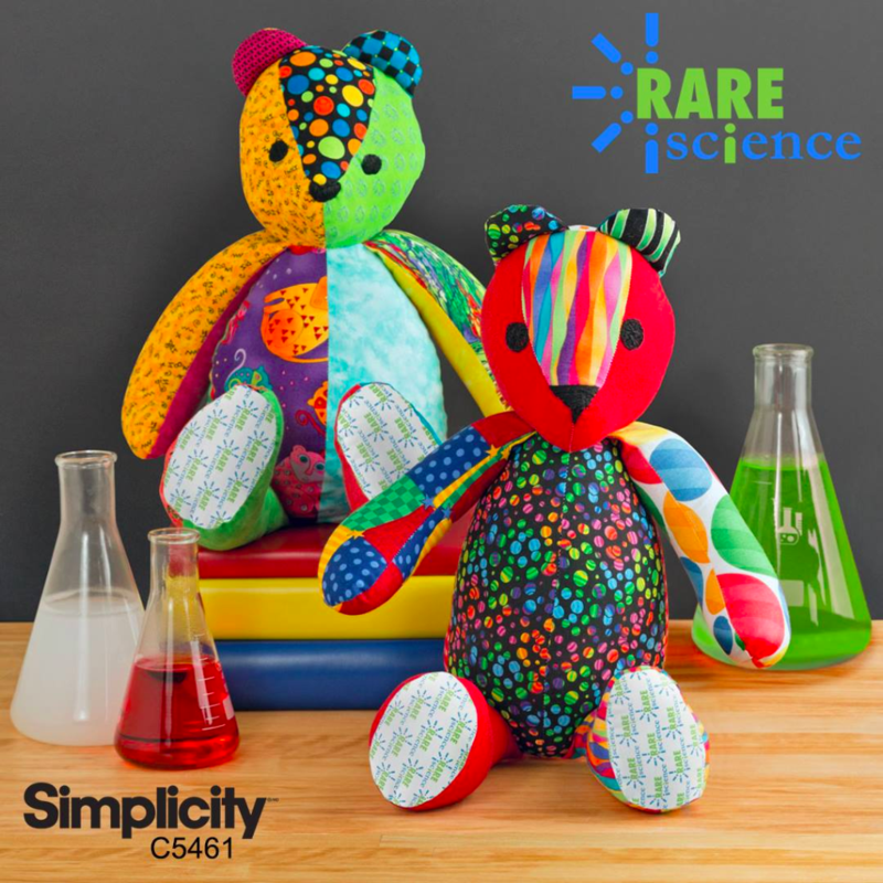 Support RARE Science with a RARE Bear sew-in!