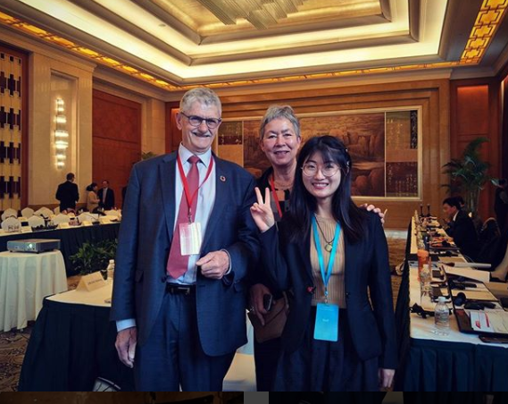 Ru with Mr. Mogens Lykettoft and wife (Senator of Denmark and President of UN General Assembly 2015-2016)