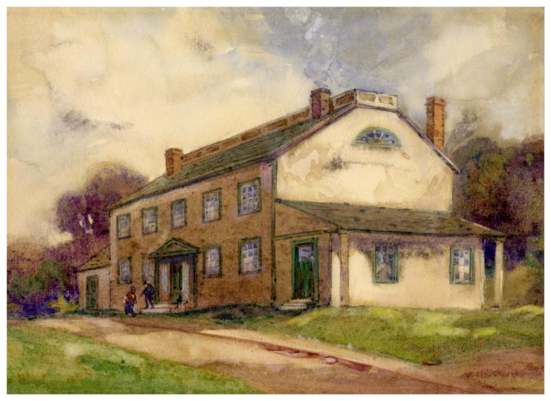 Residence of Sir D.W. Smith  Niagara-on-the-Lake  Ontario  1794