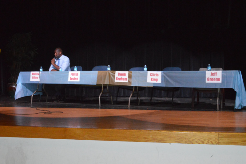 NAACP event empty seats